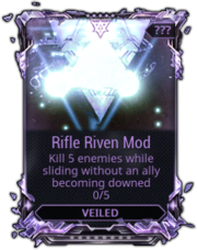 how to sell a riven on warframe market