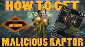 HOW TO GET MALICIOUS RAPTOR Venka Become Wolverine! - Warframe Mods