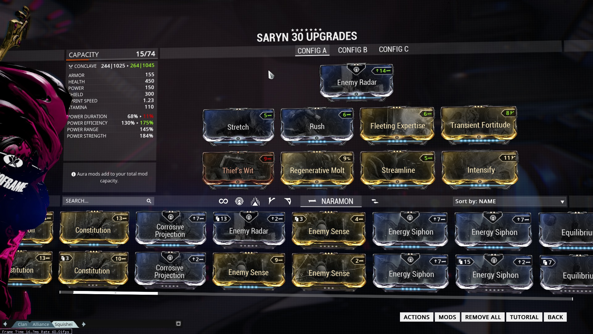Best Saryn Build Warframe