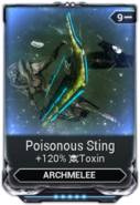 Poisonous Sting