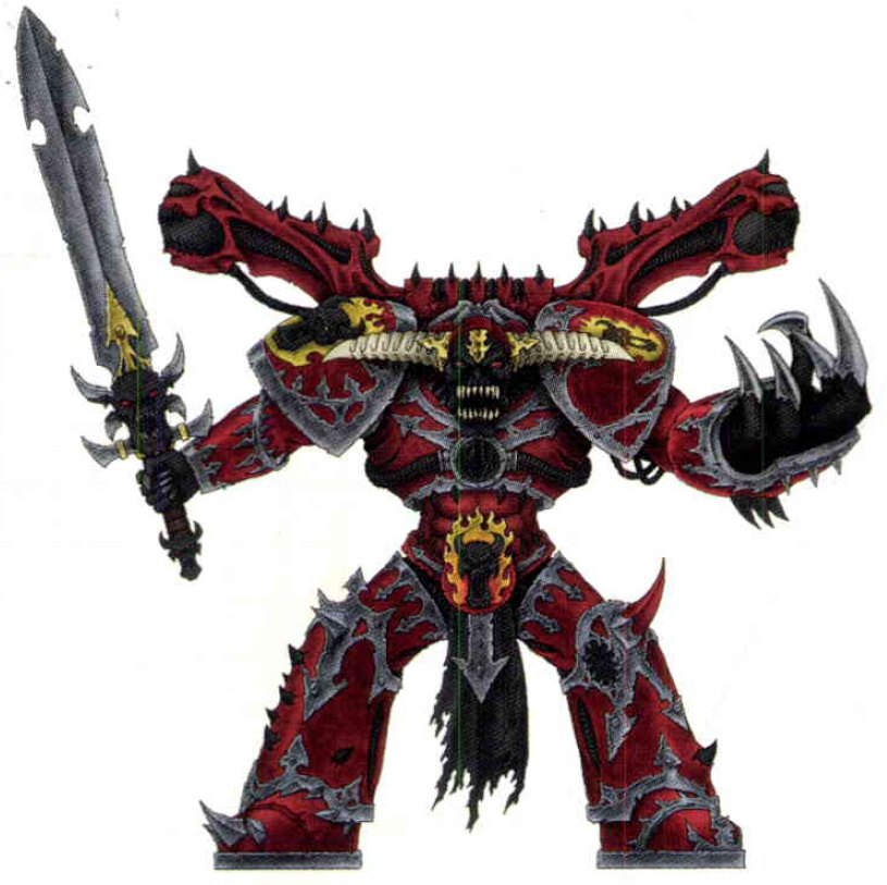Daemon Prince 40k Daemon Prince Kor Maegron