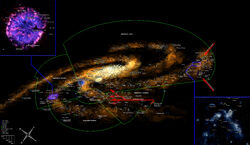 The Warhammer 40k Galaxy Map