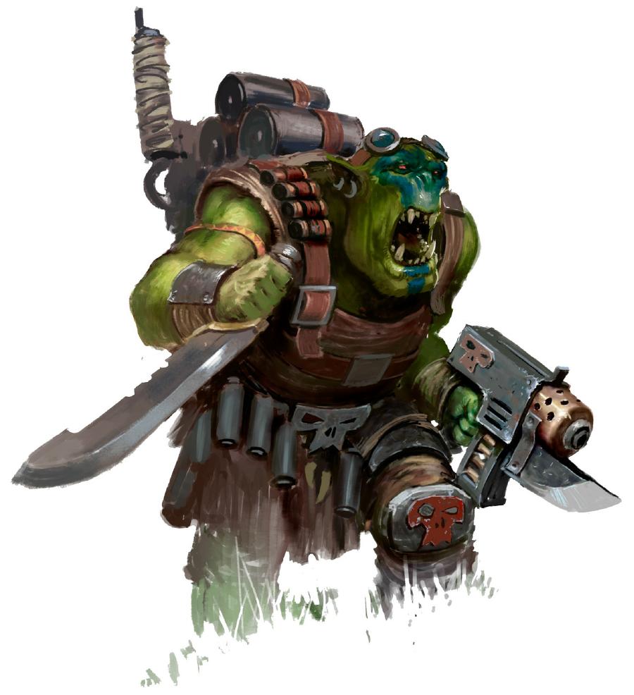Rumble In The Jungle: Predator Elite Vs. Ork Kommandos