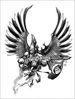 Swooping Hawks Aspect Warrior