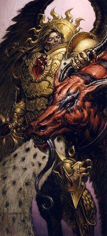 File:Primarch Sanguinius Victorious.jpg