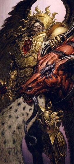 Primarch Sanguinius Victorious
