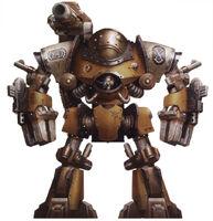 Castellax Battle Automata Taghmata Xerxes