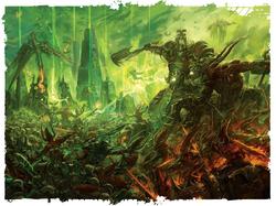 Daemonkin Army vs. Necrons