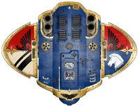 Knight Errant Vermilion Shield (top)