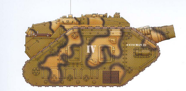 File:Thunderer Siege Tank Catachan 18th Regiment.png