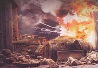 Thunderer Siege Tank Urban Combat Zone