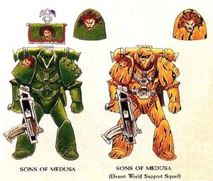 Sons of Medusa Original Colors