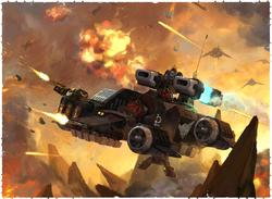 Ravenwing Vengeance Landspeeder