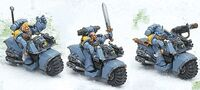 Bike Squadron Space Wolves