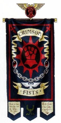 Crimson Fists Banner