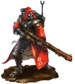 Skitarii Warrior