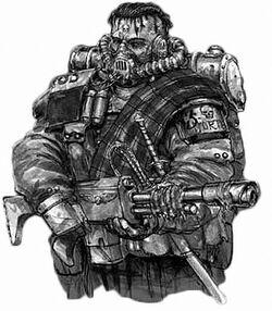 Drookian Fenguard Trooper