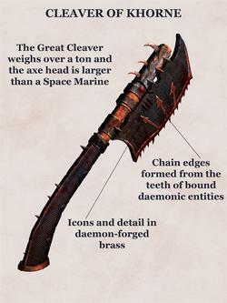Great cleaver of khoen