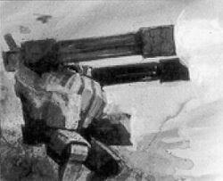 Broadside firing