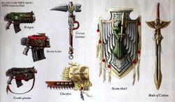 Dark Angels Weapons