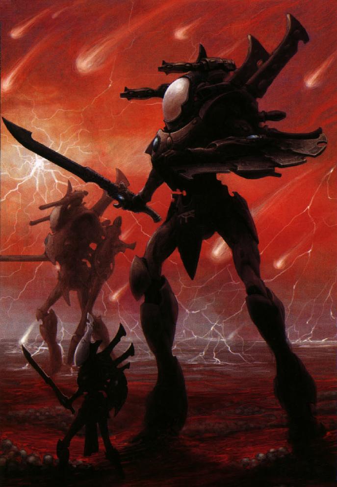 wraithknight warhammer 40k fandom powered by wikia