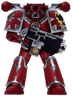 Foresworn Chaos Marine