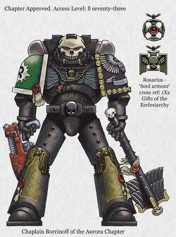 Chaplain Borrwolf