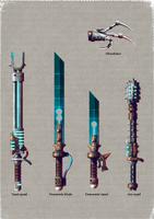 Skitarii Weapons 4