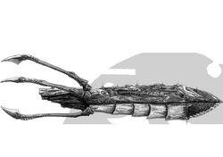 Leviathan Hive Ship