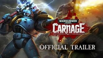Warhammer 40,000 Carnage Official Trailer - Available on iOS & Android