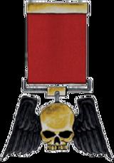 8. Winged Skull