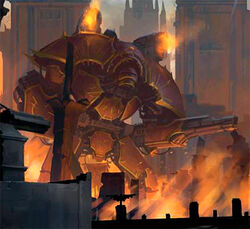Chaos Warlord Battle