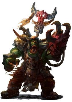 Ork warboss only war jubjubjedi