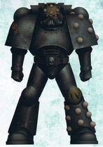 Mark V 'Heresy' Armour-Ash Zone Contaminated
