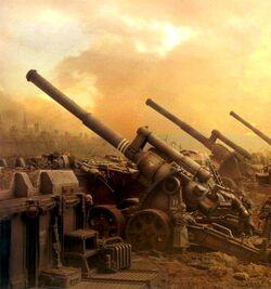 Krieg Artillery