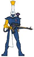 Dire Avenger Knights Azure 1