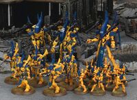 Iyanden Wraithlords Wraithguard Guardians