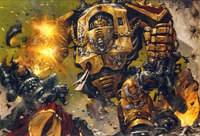 Legio Custodes Sagittarus Heresy Dreadnaught