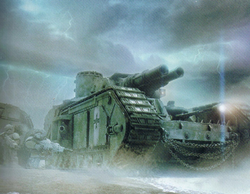 Imperial Macharius Heavy Tank Betalis III