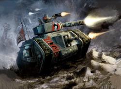 Genestealer Leman Russ Battle Tank