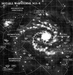 Notable warpstorms