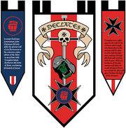Black Templars - Declates banner