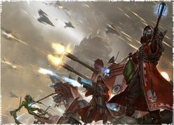 Skitarii Battle