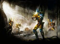 Iyanden Guardian Defenders