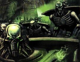 Necron Warriors Enmasse2
