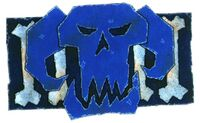 D Skulls Banner
