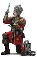 Vostroyan Female Medic