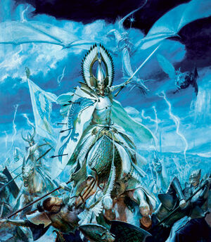 Warhammer High Elves warfare