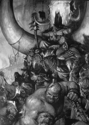 Warhammer Ogre Feast