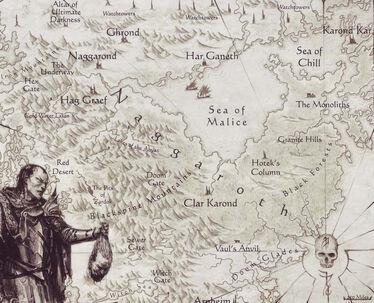 Map Naggaroth